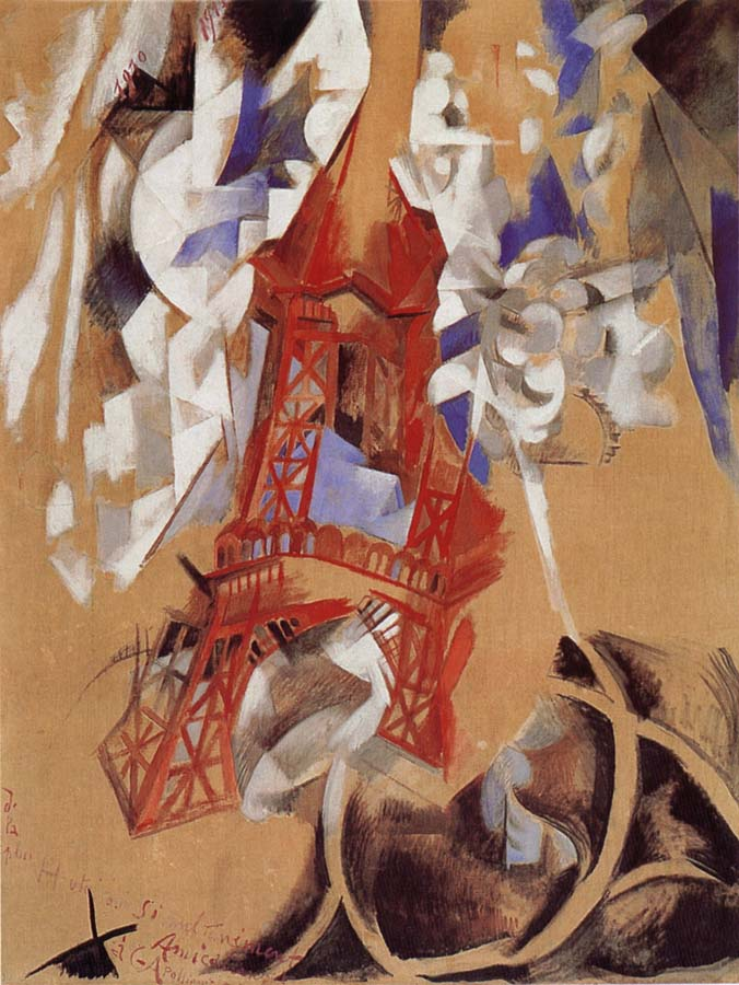 an analysis on robert delaunay s eiffel Artwork page for 'endless rhythm', robert delaunay,  delaunay's colour-based abstractions, including endless rhythm,.