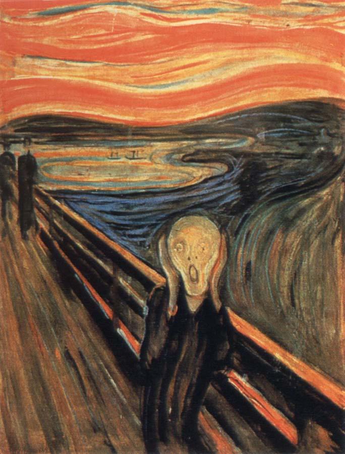 The scream Edvard Munch Framed Wholesale China Oil