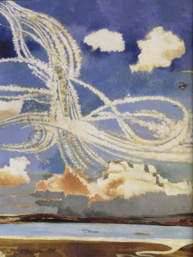 an analysis the painting of the battle of britain by paul nash Paul nash (1889-1946 request information about this work of art the battle of britain was the first major battle fought entirely in the air.