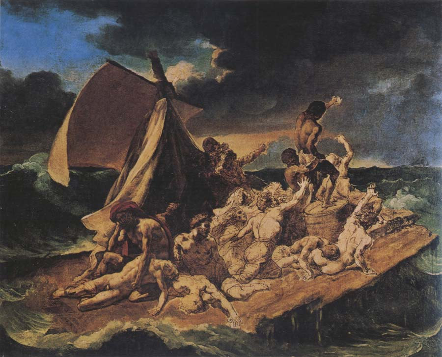 an analysis of theodore gericaults painting raft of the medusa Raft of the medusa there are several important elements and principles in this painting that make it so visually engaging while some are obvious upon first glance, many of these elements are more obscure, and are only apparent when examining the painting more closely.