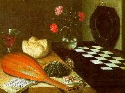 Lubin Baugin Still Life with Chessboard oil painting reproduction