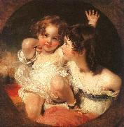 Sir Thomas Lawrence The Calmady Children china oil painting artist