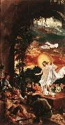 ALTDORFER, Albrecht The Resurrection of Christ  jjkk oil painting reproduction