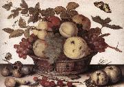AST, Balthasar van der Basket of Fruits vvvv oil painting
