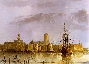 Aelbert Cuyp View of Dordrecht oil on canvas
