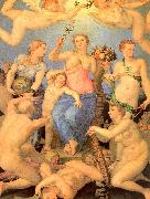 Agnolo Bronzino Allegory of Happiness oil painting