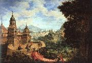 Albrecht Altdorfer Allegory oil painting