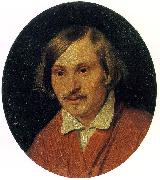 Alexander Ivanov Portrait of Nikolai Gogol oil painting