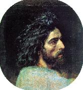 Alexander Ivanov John the Baptist's Head oil painting