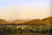 Alexandre Calame View of Geneva from Petit-Saconnex oil on canvas
