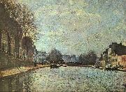 Alfred Sisley The St.Martin Canal oil painting