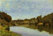 Alfred Sisley The Seine at Bougival oil on canvas
