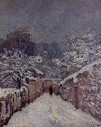 Alfred Sisley Snow at Louveciennes oil on canvas