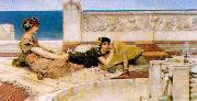 Alma Tadema Love's Votaries oil painting reproduction