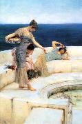Alma Tadema Silver Favourites oil painting reproduction