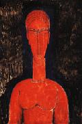 Amedeo Modigliani Red Bust oil painting reproduction