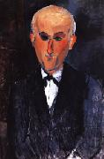 Amedeo Modigliani Portrait of Max Jacob oil painting reproduction