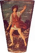 Andrea del Castagno The Young David oil on canvas