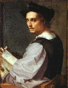 Andrea del Sarto Portrait of a Young Man oil painting