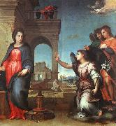 Andrea del Sarto The Annunciation oil painting reproduction