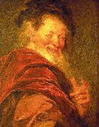 Antoine Coypel Democritus oil on canvas