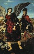 Antonio Pollaiuolo Tobias and the Angel oil painting reproduction