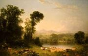 Asher Brown Durand Pastoral Landscape oil painting reproduction