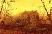 Atkinson Grimshaw Autumn Morning oil painting reproduction