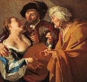 BABUREN, Dirck van The Procuress kj oil painting