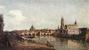 BELLOTTO, Bernardo View of Dresden from the Right Bank of the Elbe with the Augustus Bridge china oil painting artist