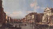 BELLOTTO, Bernardo View of the Grand Canal at San Stae china oil painting artist