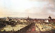 BELLOTTO, Bernardo View of Vienna from the Belvedere hjhk china oil painting artist