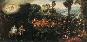 BLES, Herri met de The Flight into Egypt cghg oil painting reproduction