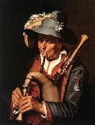 BLOEMAERT, Abraham The Bagpiper ffg china oil painting artist
