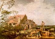 BLOEMAERT, Abraham Landscape with Peasants Resting  gggf oil painting