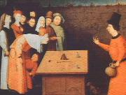 BOSCH, Hieronymus The Magician gfh oil painting reproduction