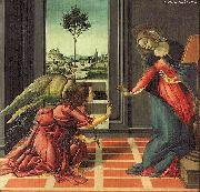 BOTTICELLI, Sandro The Annunciation gfhfghgf china oil painting artist