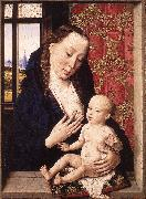 BOUTS, Dieric the Elder Mary and Child fgd oil painting reproduction