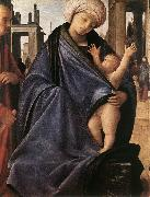 BRAMANTINO Holy Family inwp painting