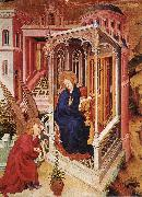 BROEDERLAM, Melchior The Annunciation qow oil painting artist