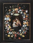 BRUEGHEL, Ambrosius Holy Virgin and Child painting