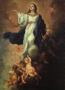 Bartolome Esteban Murillo Assumption of the Virgin oil painting reproduction