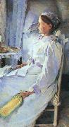 Beaux, Cecilia New England Woman oil on canvas