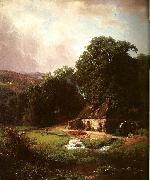 Bierstadt, Albert The Old Mill oil painting reproduction