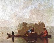 Bingham, George Caleb Fur Traders Going down the Missouri oil on canvas