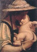 CAMBIASO, Luca Virgin and Child gfh oil on canvas