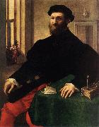 CAMPI, Giulio Portrait of a Man  iey oil on canvas