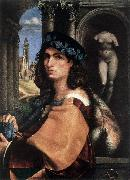 CAPRIOLO, Domenico Portrait of a Man df oil on canvas