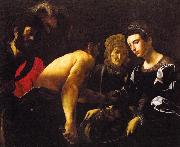 CARACCIOLO, Giovanni Battista Salome g oil on canvas