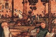 CARPACCIO, Vittore St Jerome and the Lion (detail) dfg oil painting